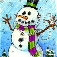 snowman_iChristmas